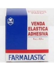 Venda elastica adhesiva farmalastic 4,5 x 5