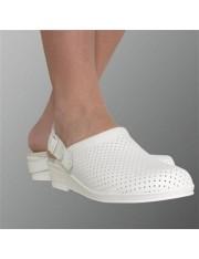 Zuecos hankshoes confort blanco talla 35 cinfa