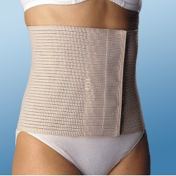 Banda abdominal transpirable fj207 talla-m 85-95 cm emo