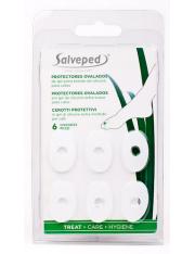 Salveped protector de silicona callos ovalados 6 unidades