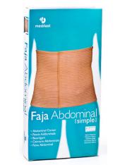 Faja abdominal simple medilast contorno de cintura 95-115 cm t- grande