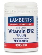 Vitamina b12 100 mcg 100 tabletas lamberts