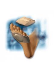 Banda pie abierto elastica con almohadilla de silicona talla l comforsil cc-229