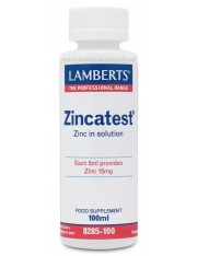 Zincatest liquido 100 ml (minerales) lamberts
