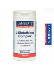 L-glutationa complex 60 capsulas (aminoacidos) lamberts