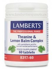 Complejo de teanina y balsamo limon (con acido pantotenico) lamberts