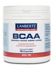 Bcaa 180 capsulas (aminoacidos) lamberts