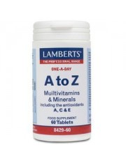 A to z amplio espectro nutrientes 100% vrn (formulas multiples) 60 tabletas lamberts
