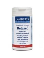 Betasec antioxidante amplio espectro 60 tabletas lamberts