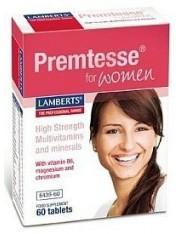 Premtesse mujeres edad mestrual 60 tabletas lamberts