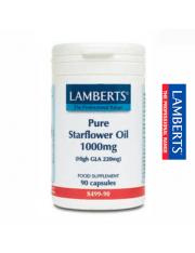 Aceite borraja puro 1000 mg. (rico omega 6) 90 capsulas lamberts