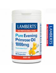 Aceite de primula puro 1000 mg (rico omega 6) 90 capsulas lamberts