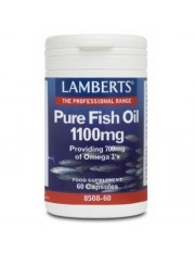 Aceite pescado puro 1100 mg.(epa 360/dha 240 mg) 60 capsulas lamberts
