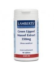 Extracto mejillon verde 350mg (nutrientes) 90 tabletas lamberts