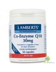 Co q10 30 mg (nutrientes) 60 capsulas lamberts