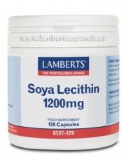 Lecitina soja 1200 mg (nutrientes) 120 capsulas lamberts