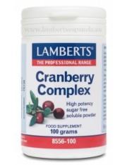 Complejo arandanos con fos y vitamina c (hierbas) 100gr.polvo lamberts