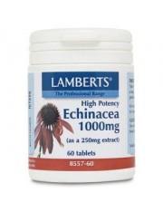 Equinacea 1000 mg(aportando 4% compuestos fenolicos) 60 tabletas lamberts