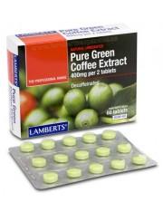 Extracto cafe verde puro 400gr (hierbas) 60 tabletas lamberts