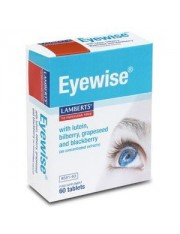 Eyewise (con luteina,zarzamora,semilla uva y mirtillo) 60 tabletas lamberts
