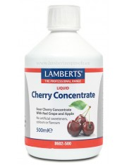 Concentrado cerezas acidas 500 ml. lamberts