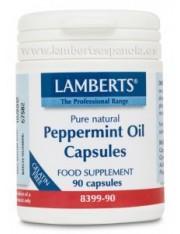 Aceite de menta 50 mg. 90 capsulas (ayuda digestiva) lamberts