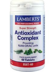 Complejo antioxidantes alta potencia (aportando 10000 unidades orac) 60 tabletas lamberts