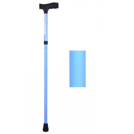 Baston plegable fashion ad413/c azul