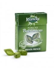 Juanola perlas 25 g menta fresca .