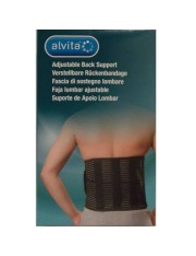 Faja lumbar alvita ajustable talla- 2 contorno cintura 100-120 cm