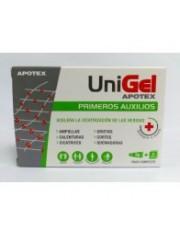Unigel primeros auxilios aposito esteril 5 g 3 apositos