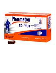 PHARMATON PLUS 50 30 CAPSULAS
