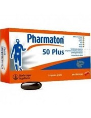 PHARMATON PLUS 50 60 CAPSULAS