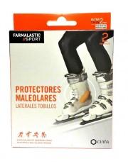 APOSITO PROTECTOR MALEOLO LATERALES TOBILLOS FARMALASTIC SPORT 2 UNIDADES 5X 11 CM