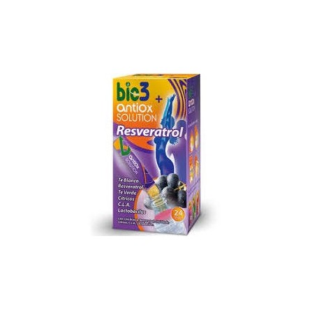 Bie3 antiox solution stick soluble 4 g 24 unidades