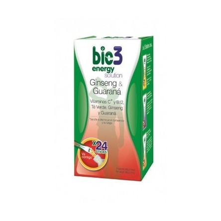 Bie3 energy solution stick soluble 4 g 24 unidades