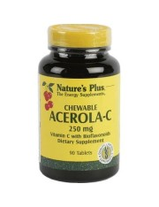 NATURE´S PLUS ACEROLA-C 250 MG 90 COMPRIMIDOS MASTICABLES