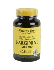 NATURE´S PLUS L-ARGININA 500 MG 90 CAPSULAS