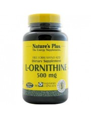 NATURE´S PLUS L-ORNITINA 500 MG 90 CAPSULAS