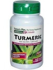 NATURE´S PLUS CURCUME TUMERIC 400 MG 60 CAPSULAS