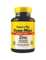 NATURE´S PLUS DYNO-MINS ZINC 60 COMPRIMIDOS