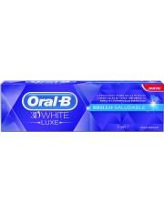 Oral b 3d white pasta dientes luxe brillo saludable 75 ml