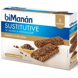 Bimanan barritas cereales al cacao con chocochips 31 g 8 barritas