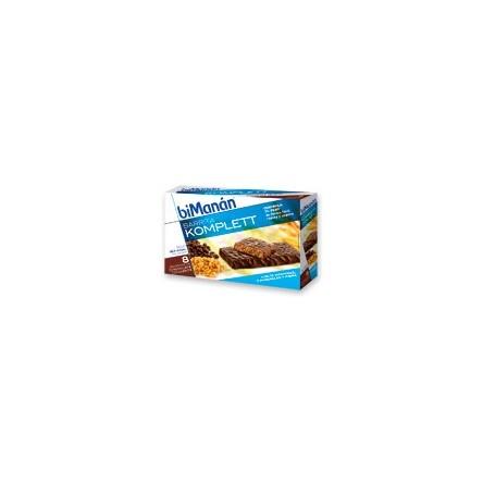 Bimanan barritas chocolate komplett 8 barritas