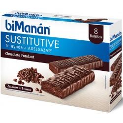 Bimanan barritas chocolate negro fondant 40 g 8 barritas