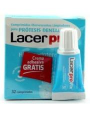Lacer protabs comprimidos limpieza protesis dental 32 comprimidos