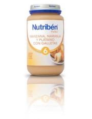 NUTRIBEN MANZANA NARANJA PLATANO Y GALLETA 250 G