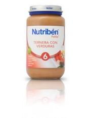 NUTRIBEN TERNERA CON VERDURA 250 G