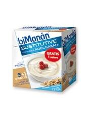 Bimanan crema de yogur con cereales 312 g 6 sobres