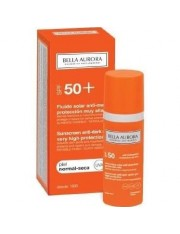 BELLA AURORA FLUIDO SOLAR SPF 50+ PIEL NORMAL SECA 50 ML